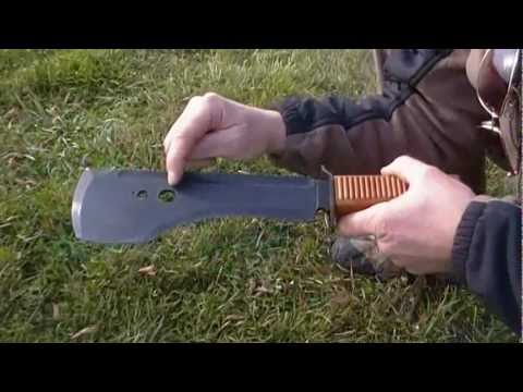 Russian Spetsnaz Machete REVIEW