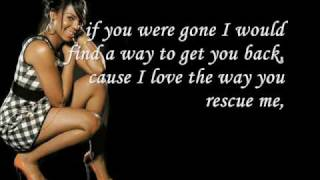 Ashanti-Rescue Me Lyrics