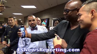 DAVE CHAPPELLE CRASHES NONITO DONAIRE INTERVIEW!! WANTS SELFIE WITH THE FILIPINO FLASH!!