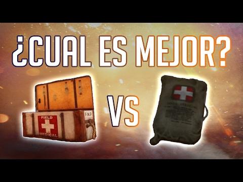 ¿CAJA DE MEDICINAS O BOLSA DE VENDAS? - GUÍA DE MÉDICO EN BATTLEFIELD 1 || ZGamers