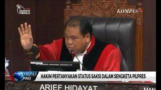 Hakim: Pak Bambang Widjojanto Stop! Kalau Tidak, Saya Suruh Keluar
