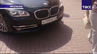 Видео с разбитого мобильного телефона девушки, пострадавшей в скандале с экс-чиновником на Арбате
