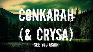 Gambar cover Conkarah & Crysa - See you again (Reggae cover) (Lyrics)