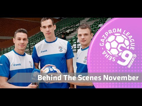 Behind the scenes November