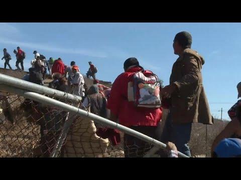 العرب اليوم - شاهد: الشرطة الأميركية تغلق معبرًا حدوديًا مع المكسيك مؤقتًا