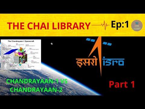 CHANDRAYAAN1 vs CHANDRAYAAN2 in hindi|VIKRAM LANDER|MOON MISSION|THE CHAI LIBRARY|PART1