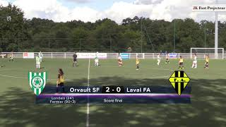 R1 Féminines : Orvault SF / FA Laval (2-0)