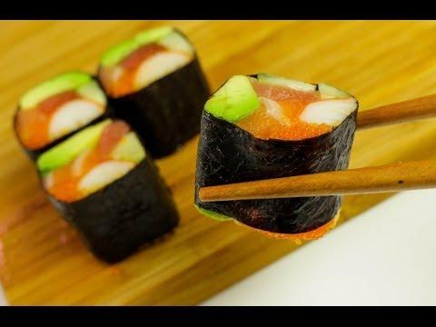 No rice sushi roll – Sushi Recipe