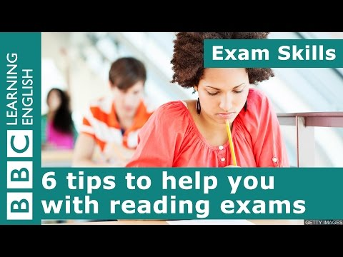 Exam skills: 6 tips to help you with reading exams