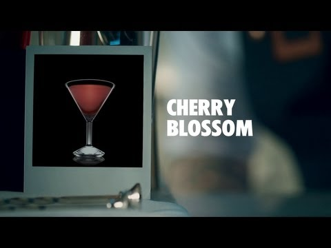 Video CHERRY BLOSSOM DRINK RECIPE - HOW TO MIX