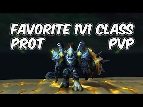 Best 1v1 Class - 8 1 Protection Paladin PvP - WoW BFA - Para