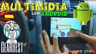 INTERNET no CARRO? Whatsapp,Uber,YouTube, Multimidia c/ Android preço top GEARBEST...☢JuNiOr SoM♛®