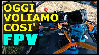 OGGI VOLIAMO COSI'...E TU??? | EmuFlight 0.3.1 Rate Dynamics Test | DRONE FPV FreeStyle | ENG SUBS