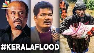 Superstar Rajinikanth and Shankar contributes to Kerala flood victims   Tamil Live Updates