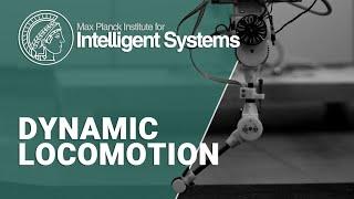 """Dynamic Locomotion"" Max Planck research group lead by Dr. Alexander Badri-Spröwitz"