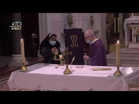 Laudes et Messe du 20 mars 2021 à Notre-Dame de la Garde