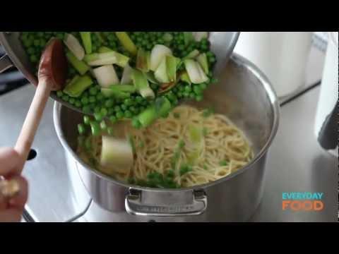 Pasta with Leeks