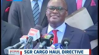Standard Gauge Railway cargo haul directive