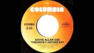David Allan Coe - Tomorrow Is Another Day