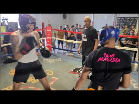 15 year old (USA BOXER) VS. GOOD KID