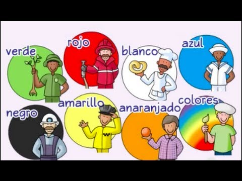 Spanish for Kids   Colors, colors - ¡Colores, colores! - Calico Spanish Learning Songs for Kids