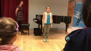 "Parker's Fall Piano Recital ""Hungarian Folksong"""