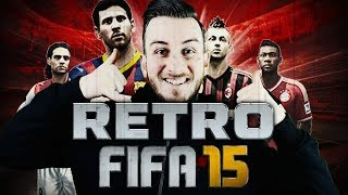 RETRO FIFA 15 CLUB TOUR & PACKS | FIFA Ultimate Team