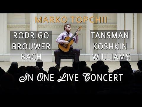 MARKO TOPCHII – Concert in Kyiv, Ukraine. Played on  February 22, 2019