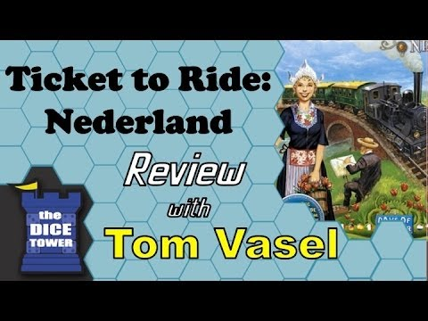 Dice Tower Reviews: Ticket to Ride - Nederland