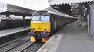 preview picture of video 'Rail trip to Cheltenham Spa Part One'