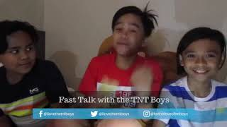Tonight at 6PM: Guess how the TNT Boys answered Fast Talk questions!