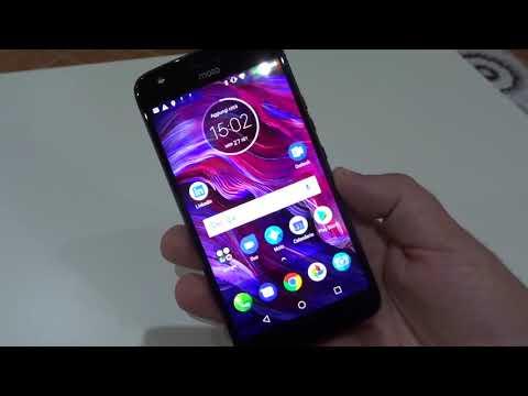 Unboxing Motorola Moto X4