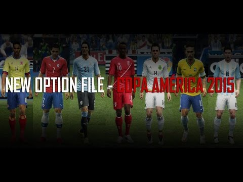 PES 2013 New Option File Copa América 2015 for PESEdit 6.0 By B.Molina