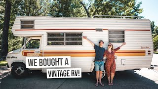 We Bought A Vintage CAMPER VAN RV! Was This A $4000 Mistake??