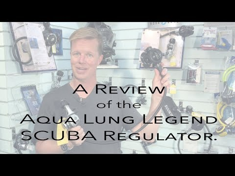 Review of the Aqua Lung Legend SCUBA Regulator