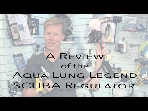 Review of the Aqua Lung Legend SCUBA Regulator