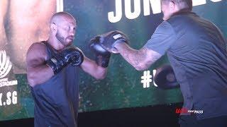 Fight Night Singapore: Donald Cerrone & Leon Edwards Open Workout Highlights