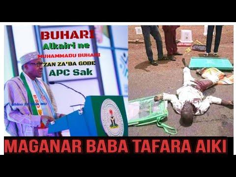 Maganar Baba Tafara Aiki Kan Barayin Akwatin Zabe