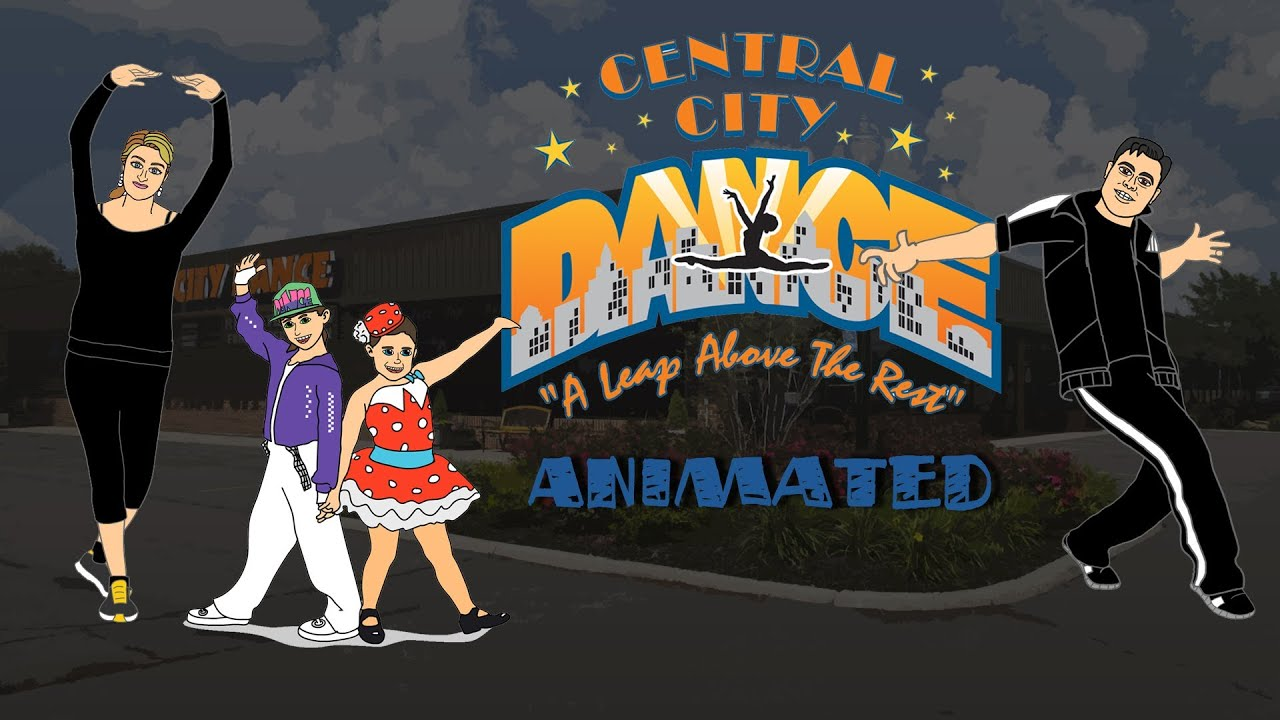 Central City Dance Animated Explainer Video