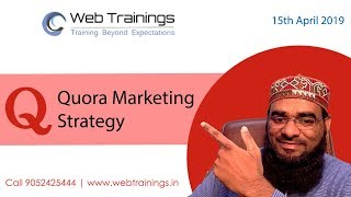 Quora Marketing Strategy - How to Grow Business with Quora - Quora Tutorial