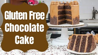Gluten Free Chocolate Cake Recipe From Scratch | CHELSWEETS