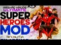 Mini militia super hero mod