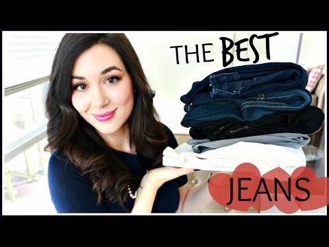 THE BEST JEANS   TOP 5 PAIRS & TRY-ON