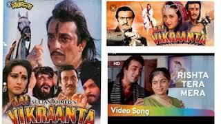 Jai Vikraanta Rishta Tera Mera- Male Full Audio   - YouTube