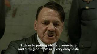 Hitler plans to sit