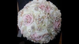 DIY Brooch Bouquet  L MARI-ROMANCE L Wedding Project