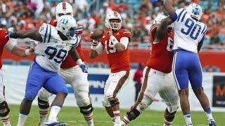 Miami Hurricanes Highlights vs Duke