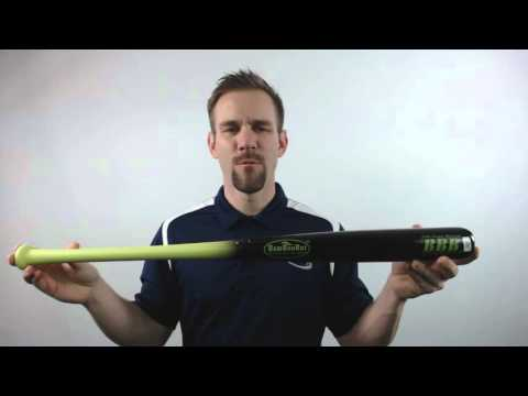 2016 BamBooBat Bamboo Youth Wood Baseball Bat: HYBBY