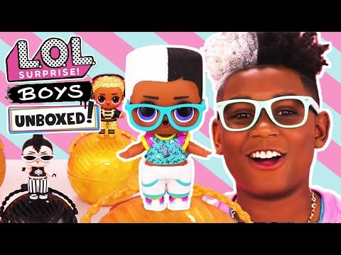 Unboxed! | LOL Surprise! | Boys | Season 4 Episode 6