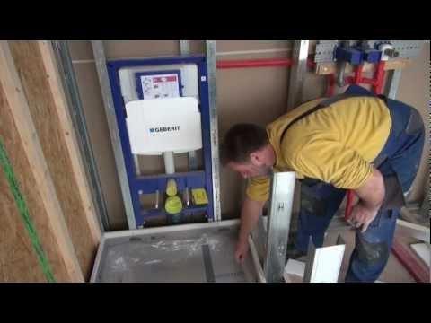 Umbau 9: Fußbodenheizung verlegen - Heizkörper montieren